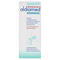 Aldiamed Mundspray zur Speichelergänzung 50 Milliliter - Vorderseite