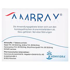 AMBRAX Tabletten 50 Stück N1 - Rückseite
