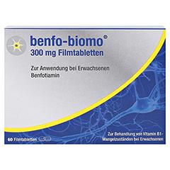 Benfo-biomo 300mg 60 Stück - Vorderseite