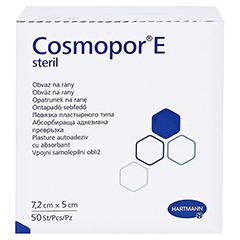 COSMOPOR E steril 5x7,2 cm 50 Stück - Linke Seite