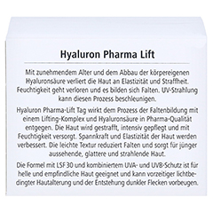 HYALURON PHARMALIFT Tag Creme LSF 30 50 Milliliter - Rückseite