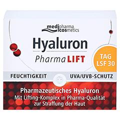 HYALURON PHARMALIFT Tag Creme LSF 30 50 Milliliter - Vorderseite