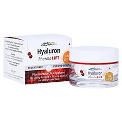 HYALURON PHARMALIFT Tag Creme LSF 30 50 Milliliter
