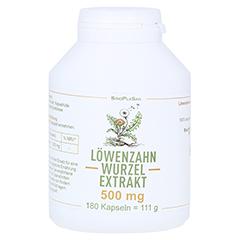 LÖWENZAHNWURZEL-Extrakt 500 mg Mono Kapseln 180 Stück