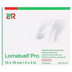 LOMATUELL Pro 10x10 cm steril 10 Stück - Vorderseite