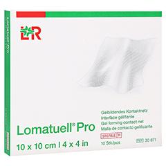 LOMATUELL Pro 10x10 cm steril 10 Stück