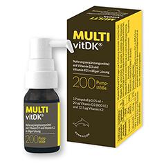 MULTIVITDK Lösung Vitamin D3+K2 10 Milliliter