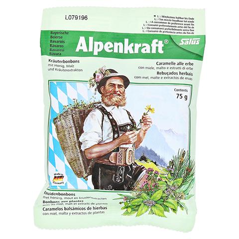 ALPENKRAFT Kräuterbonbons mit Honig+Malz Salus 75 Gramm