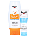 Eucerin Sun Allergy Protect Creme-Gel LSF 50 + gratis Eucerin After Sun 50 ml 150 Milliliter