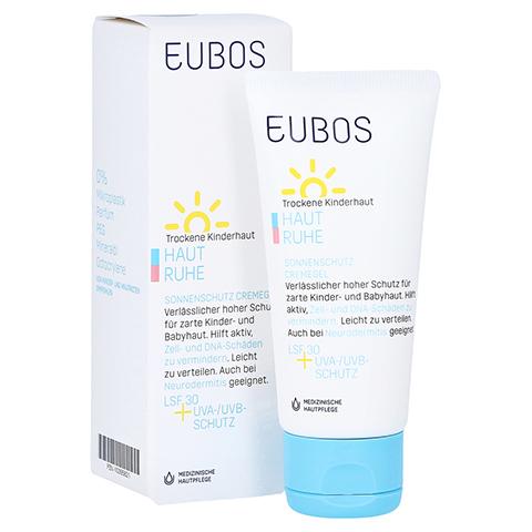 Eubos Kinder Haut Ruhe Sonnenschutz Creme 50 Milliliter