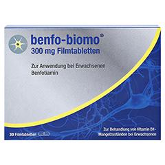 Benfo-biomo 300mg 30 Stück - Vorderseite