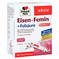 Doppelherz aktiv Eisen-Femin Direct mit Vitamin C + B6 + B12 + Folsäure 20 Stück
