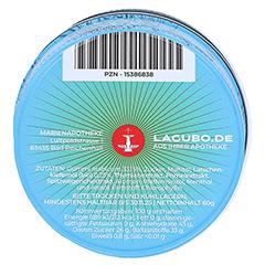 LAGUBO Latschengummipastillen 60 Gramm - Rückseite