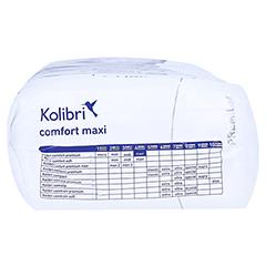 KOLIBRI comfort premium Einlagen maxi 28 Stück - Unterseite