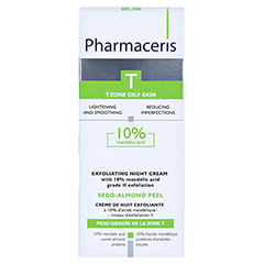 PHARMACERIS SEBO-ALMOND PEEL 10% EXFOL. NIGHT CR. 50 Milliliter - Vorderseite