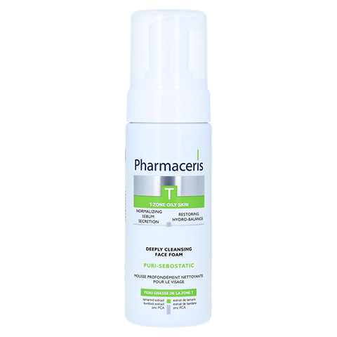 PHARMACERIS PURI-SEBOSTATIC DEEPLY CLEAN.FACE FOAM 150 Milliliter