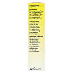 BACHBLÜTEN Original Rescura Gel 30 Gramm - Linke Seite