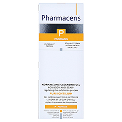 PHARMACERIS PURI-ICHTILIUM NORMALIZ. CLEANSING GEL 250 Milliliter - Vorderseite