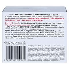 CLINIC WAY Anti-wrinkle 1 dermo-cream day 50 Milliliter - Rückseite