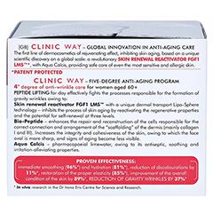 CLINIC WAY Anti-wrinkle 4 dermo-cream day 50 Milliliter - Rechte Seite