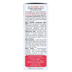 CLINIC WAY Anti-wrinkle 1+2 under eye dermo-cream 15 Milliliter - Rechte Seite