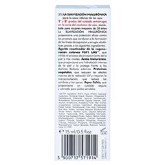 CLINIC WAY Anti-wrinkle 1+2 under eye dermo-cream 15 Milliliter - Rückseite