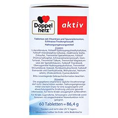 DOPPELHERZ Immun plus Echinacea Depot Tabletten 60 Stück - Rechte Seite