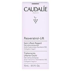 CAUDALIE Resveratrol Lifting Augenpflege 15 Milliliter - Rückseite