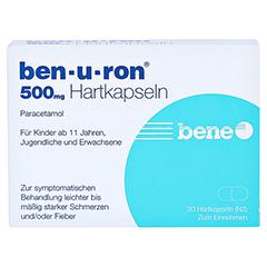Ben-u-ron 500mg 20 Stück N2 - Vorderseite