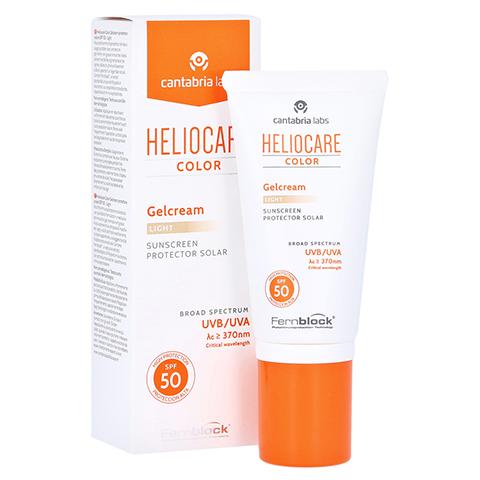 Heliocare Color Gelcream light SPF50 50 Milliliter