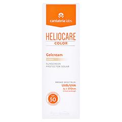 Heliocare Color Gelcream light SPF50 50 Milliliter - Vorderseite