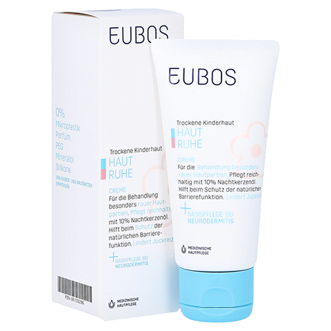 Eubos Kinder Haut Ruhe Creme 50 Milliliter