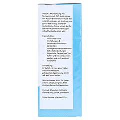 ULTRADEX Mundspülung antibakteriell mint 250 Milliliter - Rechte Seite