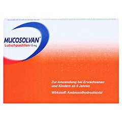 Mucosolvan Lutschpastillen 15mg 20 Stück N1 - Rückseite