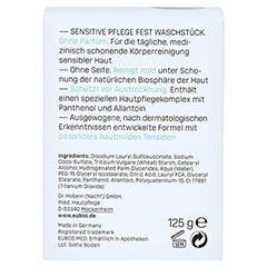 Eubos Sensitive Fest 125 Gramm - Rückseite
