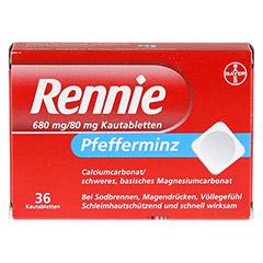 Rennie 36 Stück - Vorderseite