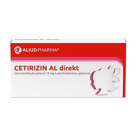 Cetirizin AL direkt 21 Stück N1