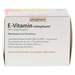 E VITAMIN-ratiopharm Kapseln 60 Stück - Oberseite