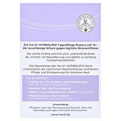 FREI ÖL Hydrolipid TagesPflege Protect LSF 15 Cr. 50 Milliliter - Rückseite