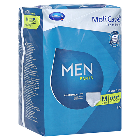 MOLICARE Premium MEN Pants 5 Tropfen M 8 Stück