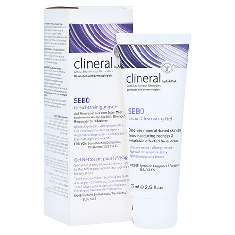 CLINERAL Facial Cleansing Gel 75 Milliliter