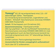 Yomogi 10 Stück N1 - Rückseite