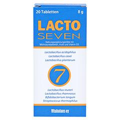 LACTO SEVEN Tabletten 20 Stück - Vorderseite