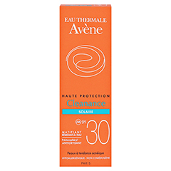 Avène Cleanance Sonne SPF 30 Emulsion 50 Milliliter - Rückseite