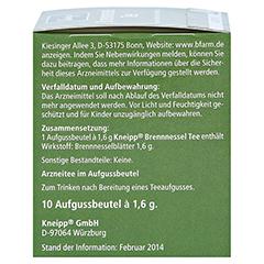 Kneipp Brennessel-Tee 10 Stück - Linke Seite