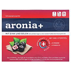ARONIA+ IMMUN Trinkampullen 7x25 Milliliter - Vorderseite