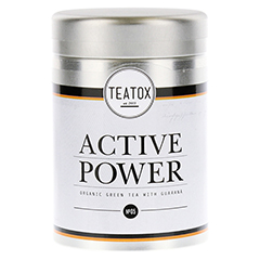 ACTIVE POWER Organic green Tea with Guarana Dose 70 Gramm