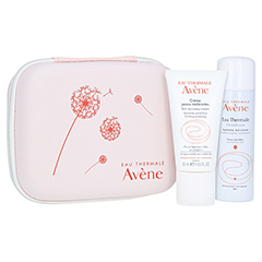 AVENE Creme für überempfindliche Haut+ gratis Allergiebox mit Thermalwasser 50 ml 50 Milliliter
