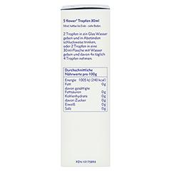 BACH KOMBINATION 5 Flow.Notfalltropf.Healing Herbs + gratis 5Flower Creme 15g 30 Milliliter - Linke Seite