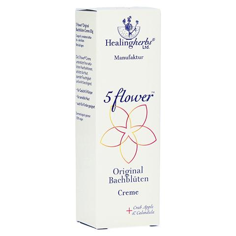 BACH KOMBINATION 5 Flow.Notfallcreme Heal.Herbs 30 Gramm
